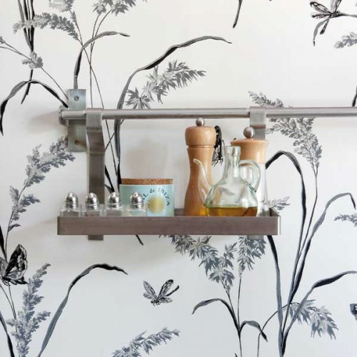 elegante wandtatto küchen design