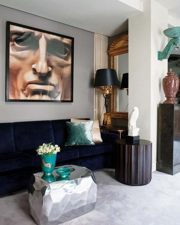 eklektische interieur ideen farben dekoration