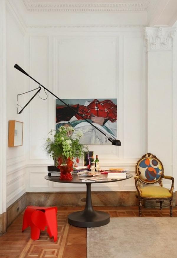 eklektische dekoration ideen farben möbel modern klassisch