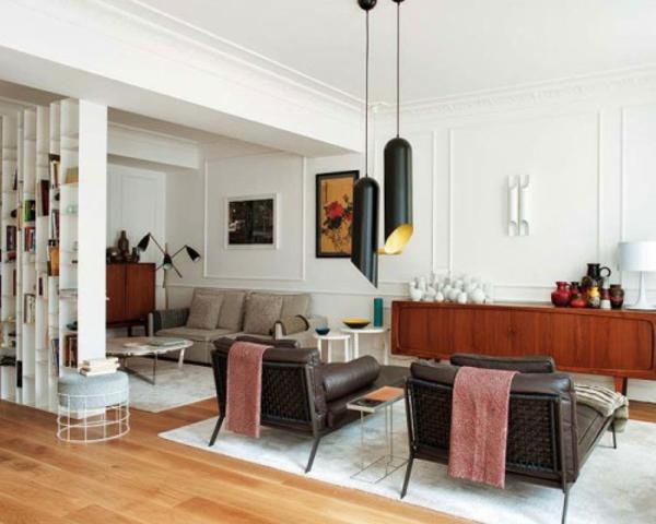 eklektischer wohnstil deko cool modern mischung klassisch