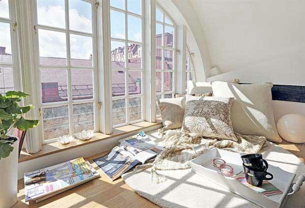gemütliche fenstersitze und erkerfenster - 36 coole aktuelle ideen - Schlafzimmer Gemutlich Dekorieren