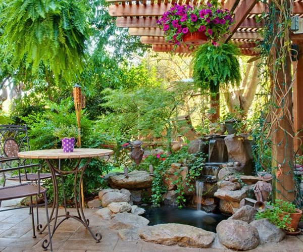 Tropische Gartengestaltung Ideen