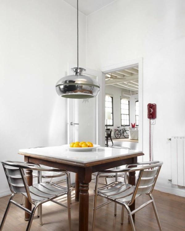Küchentisch Zeichnen: Moderner Loft Im New Yorker Stil Von Shoot 115 Design