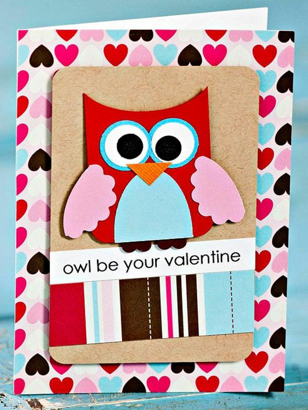 Valentinstag Karte Idee