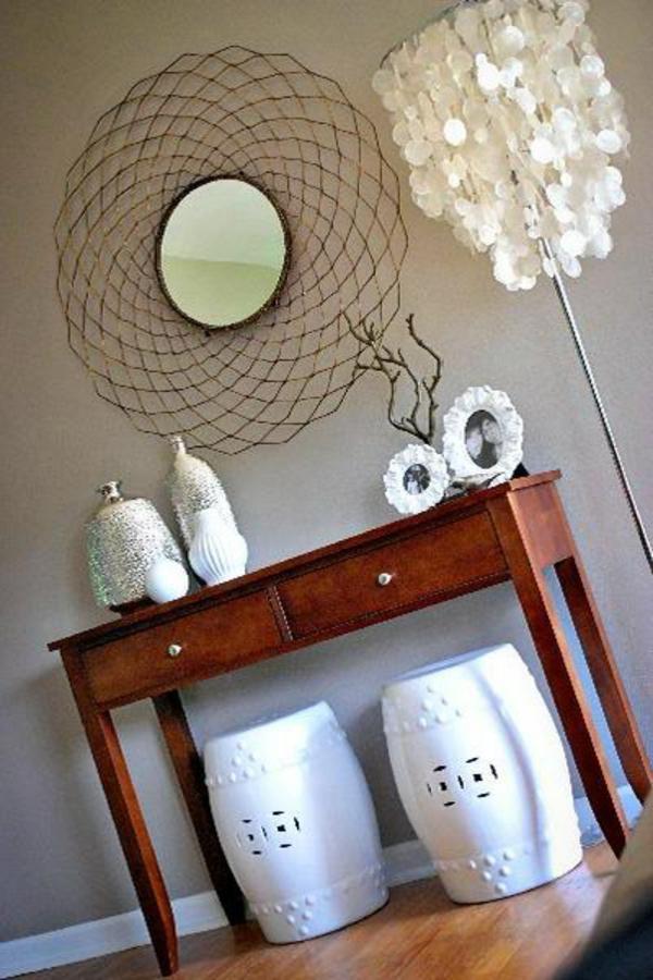 extravagant spiegel idee installation hausflur gang originell design
