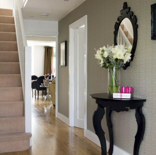 installation von spiegeln im hausflur 75 echt stilvolle. Black Bedroom Furniture Sets. Home Design Ideas