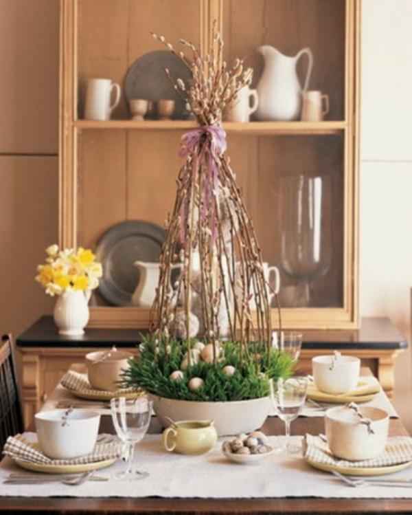 1001 ostern tischdeko ideen wundersch ne vorschl ge f r sie. Black Bedroom Furniture Sets. Home Design Ideas