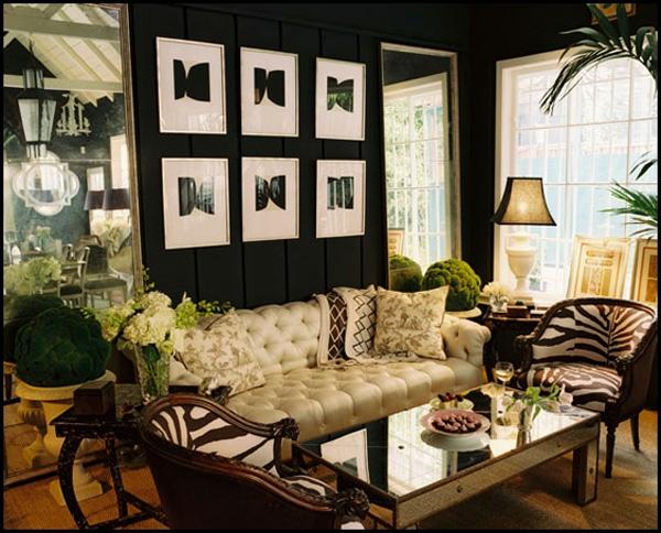 Schwarze Innenw U00e4nde In Ihrer Wohnung 30 Originelle Vorschl U00e4ge Luxus Wohnzimmer Wand
