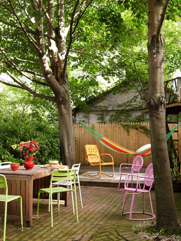 Outdoor Deko Ideen - 23 farbenfrohe, originelle Vorschläge