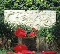 Gartengestaltung : klassische Ornamente im Garten