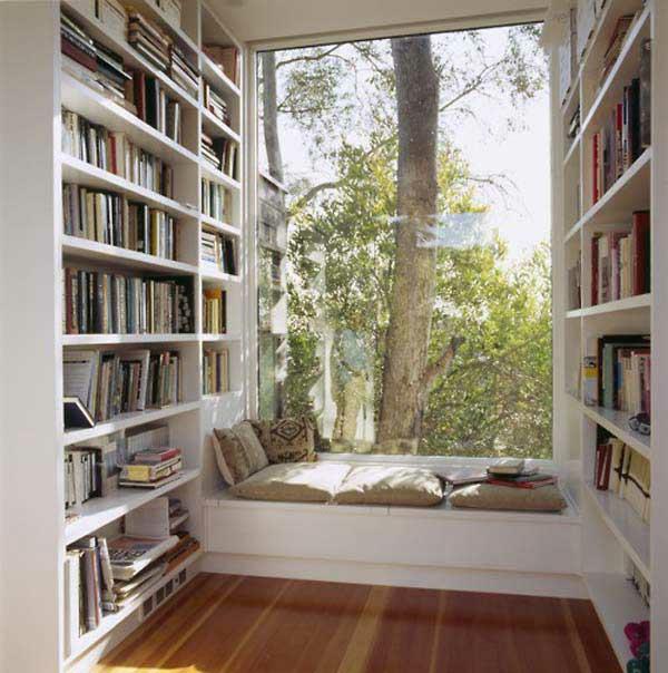 Gem tliche fenstersitze und erkerfenster 36 coole - Fenster mit aussicht ...
