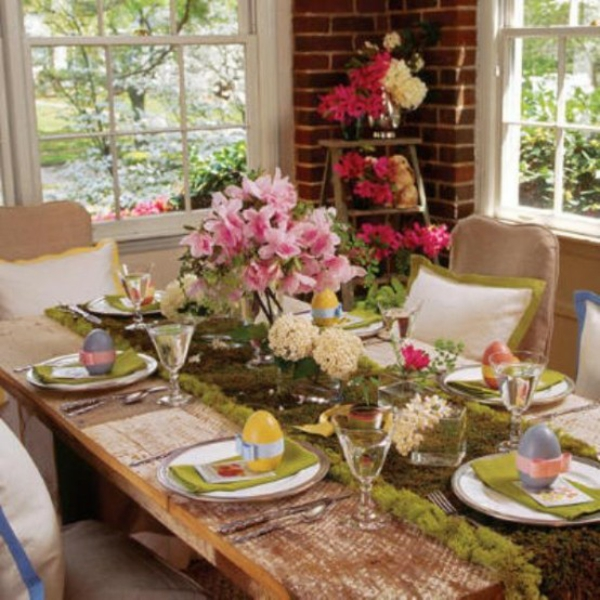Deko wohnzimmertisch frühling  ▷ 1001+ Ostern Tischdeko Ideen - wunderschöne Vorschläge für Sie