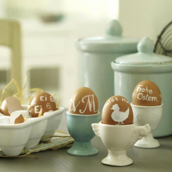 originelle dekoration vorschläge  für ostern
