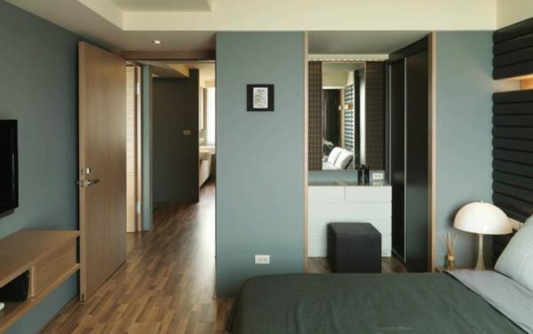 Modernes halb minimalistisches design von wch interieur - Wohnzimmer pflanze groay ...