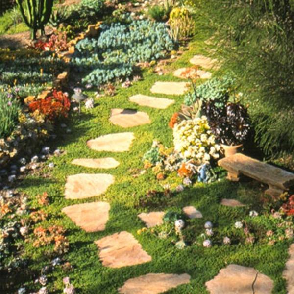 Garten Landschaft Xeriscaping patio