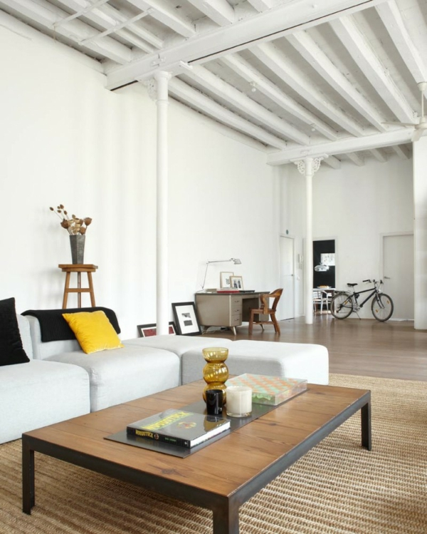 moderner loft im new yorker stil von shoot 115 design. Black Bedroom Furniture Sets. Home Design Ideas