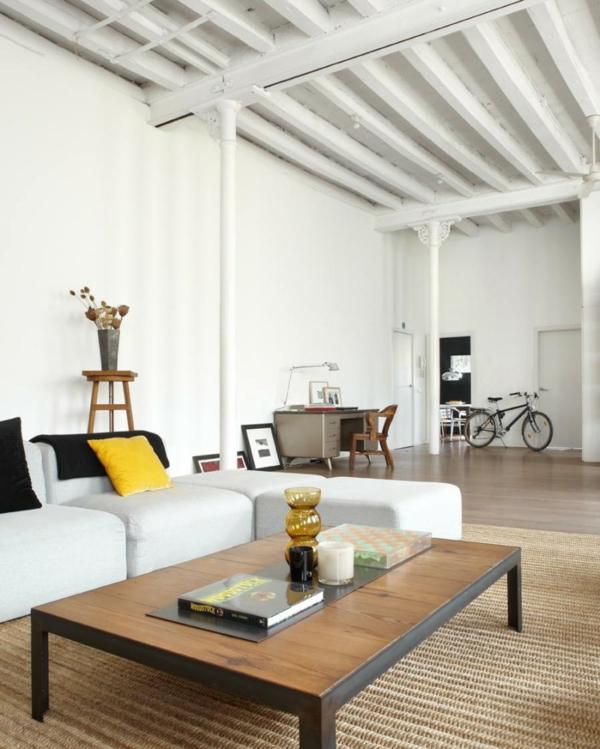 Moderner Loft Im New Yorker Stil In Barcelona   Wohnbereich