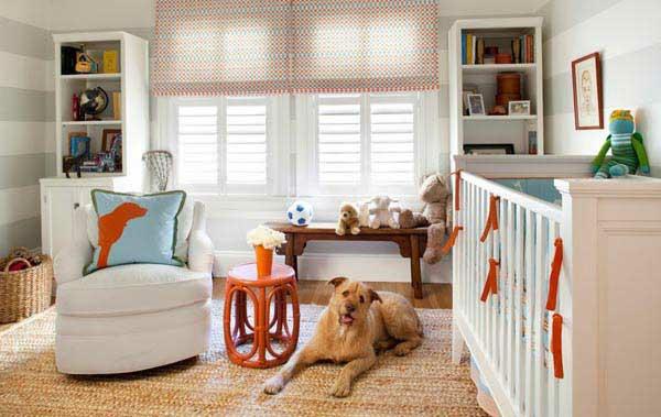 gemütlich kinderzimmer idee design verspielt hund