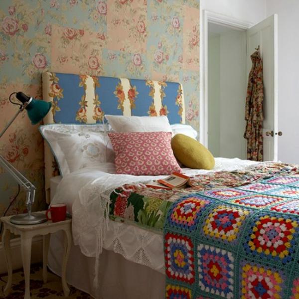 patchwork tagesdecke bettuberwurf schlafzimmer ~ möbel ideen ... - Patchwork Tagesdecke Bettuberwurf Schlafzimmer