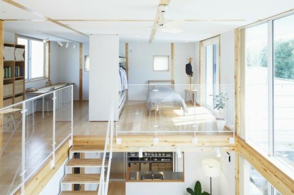 Japanisches design minimalistische inspiration glaswände