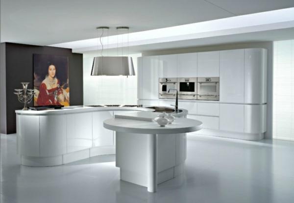 Glatt Modern Küche Design Idee Interieur 20 Moderne Kücheninsel Designs ...