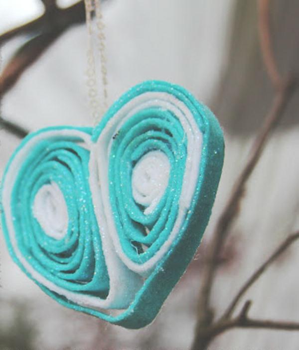 Hausdekoration zum Valentinstag selber basteln