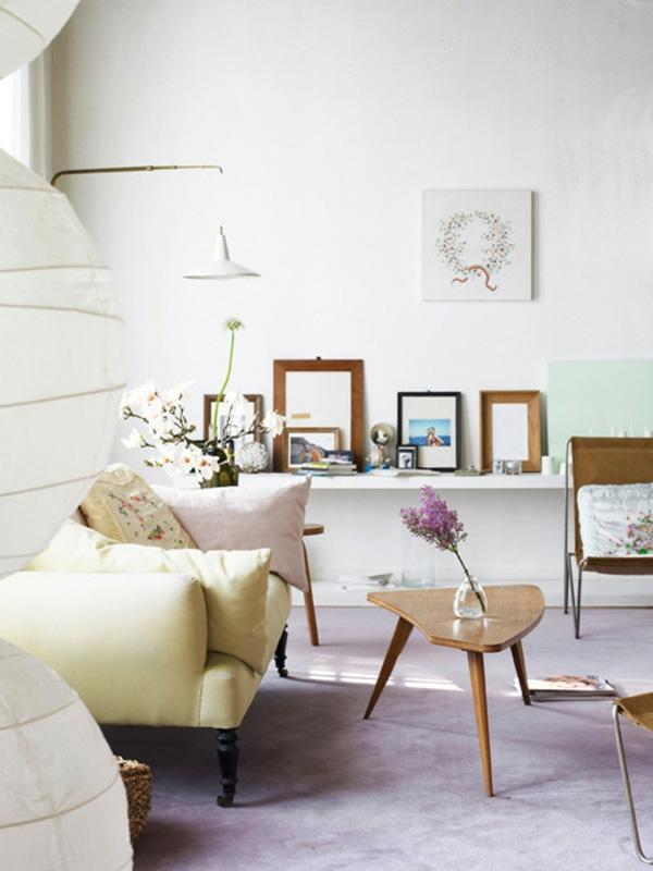 Interieur in pastellfarben wundersch ne ideen und vorschl ge for Wohnzimmer pastell