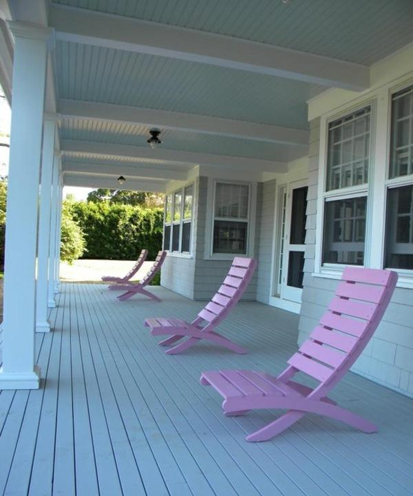 holz fassade pastell farben kastell ideen patio outdoor