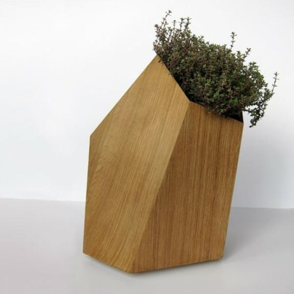 holz pflanzenbehälter ideen blumenkübel chapütschin