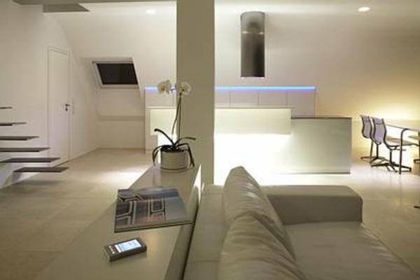 Modernes architektonisches design penthaus 39 i 40 39 in for Innenraumgestaltung wohnzimmer