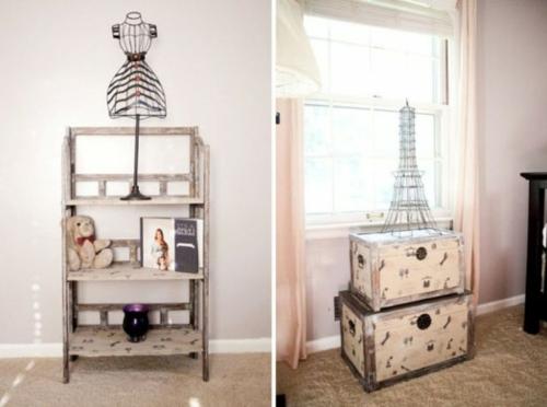 inspirierendes-babyzimmer im pariser stil eiffelturm