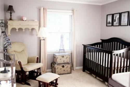 inspirierendes babyzimmer-im pariser stil