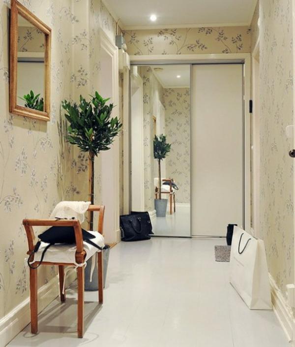 installation von spiegeln idee design blumentopf baum dekorative