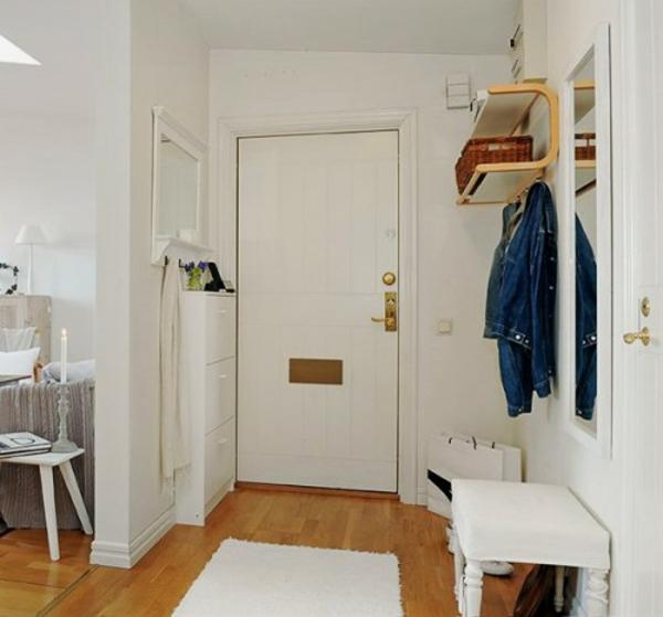 installation-von-spiegeln-idee-design-hausflur-elegant