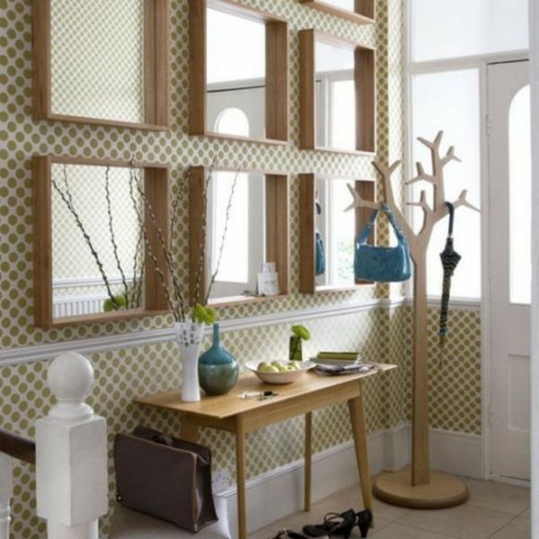 installation-von-spiegeln-idee-design-hausflur-extravagant
