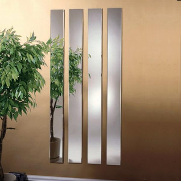 installation-von-spiegeln-idee-design-hausflur-gestreift