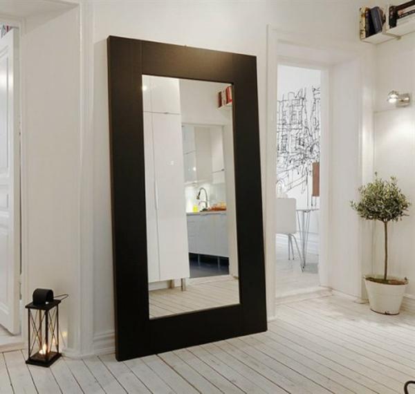 installation von spiegeln idee design hausflur gross