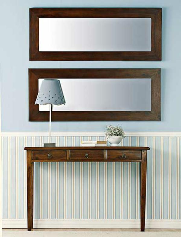 installation-von-spiegeln-idee-design-schuhe-tischleuchten