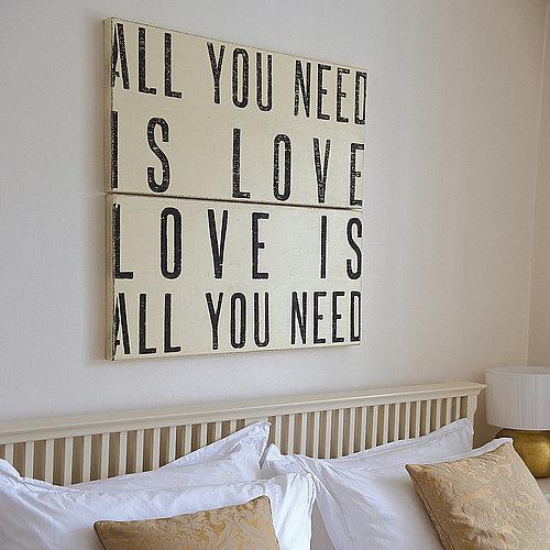 Dekoration Wand | Möbelideen Deko Wnde Schlafzimmer