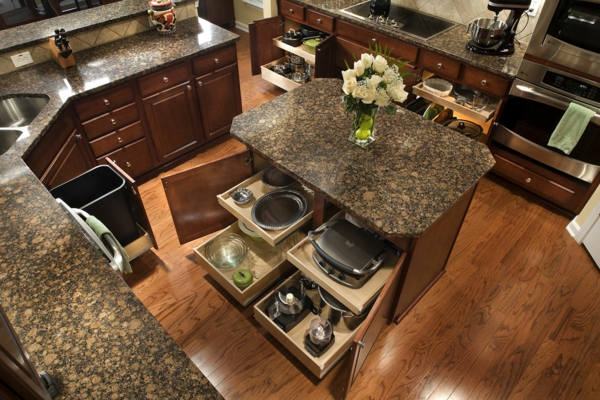 Kitchen Island Organizer