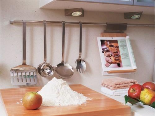 küchenschiene besteck apfel mehl küchentafel