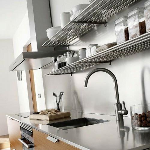 küchenschienen teller schüssel spülbecken arbeitsplatte