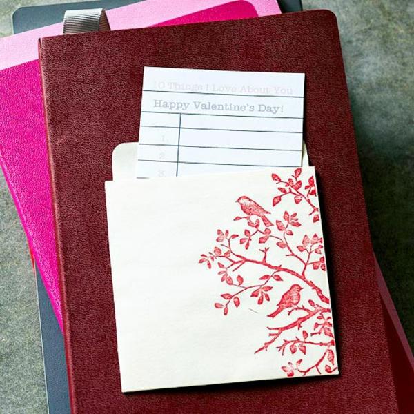 valentinstag verzierung tasche geschenk