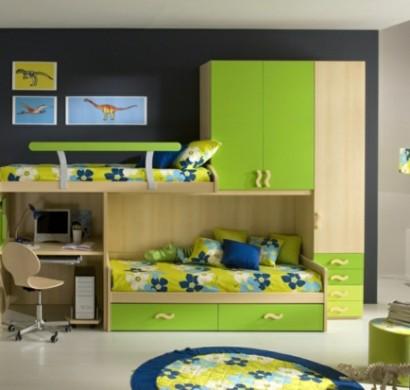 Blaue und gr ne innendesings originelle farbenreiche vorschl ge - Grune bodenfliesen ...