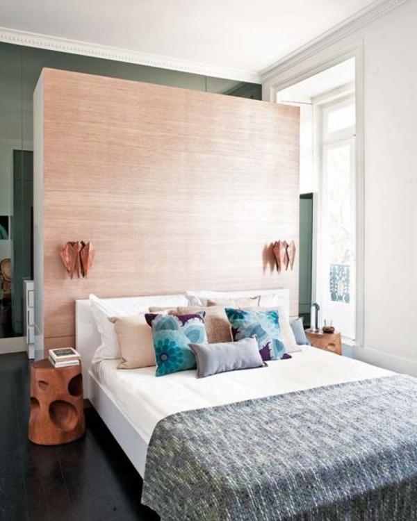 Der platz hinter dem bett im schlafzimmer stilvolles design - Schlafzimmer ausstattung ...