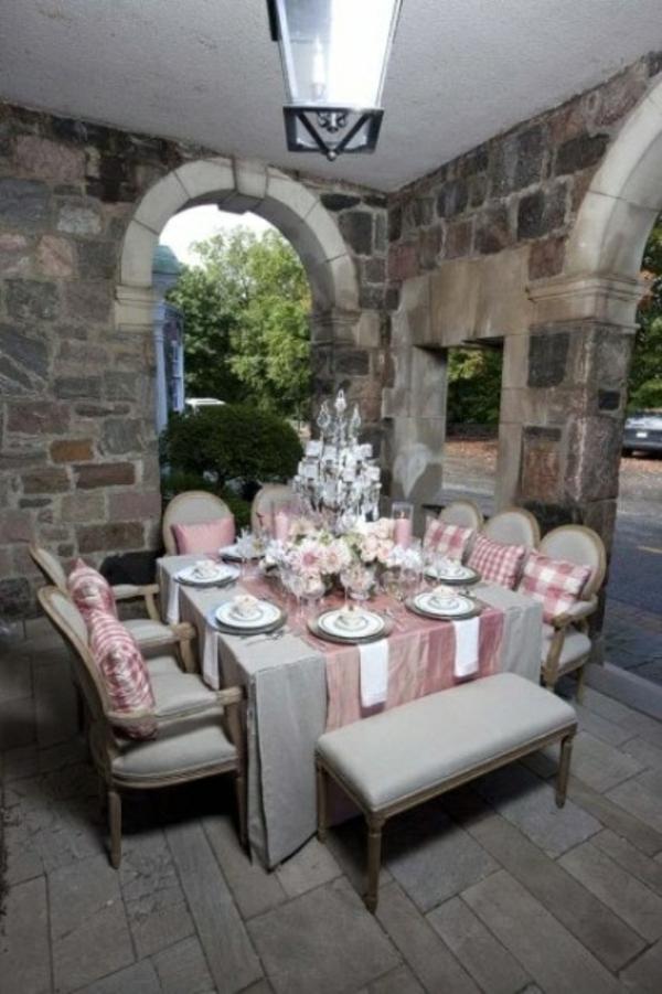 klassische kühl essbereich patio ideen outdoor design
