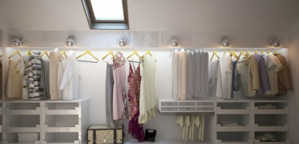Kleiderschrank dekorieren  Kreative Interieur Ideen - Extravagante Ausstellung von Innendesigns