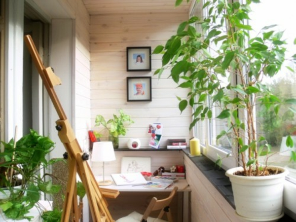 Arbeitszimmer Gemutlich Gestalten : 77 praktische Balkon Designs – originelle Balkon gestalten ideen