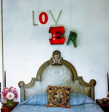 kopfbrett retro klassisch dekoration valentinstag idee