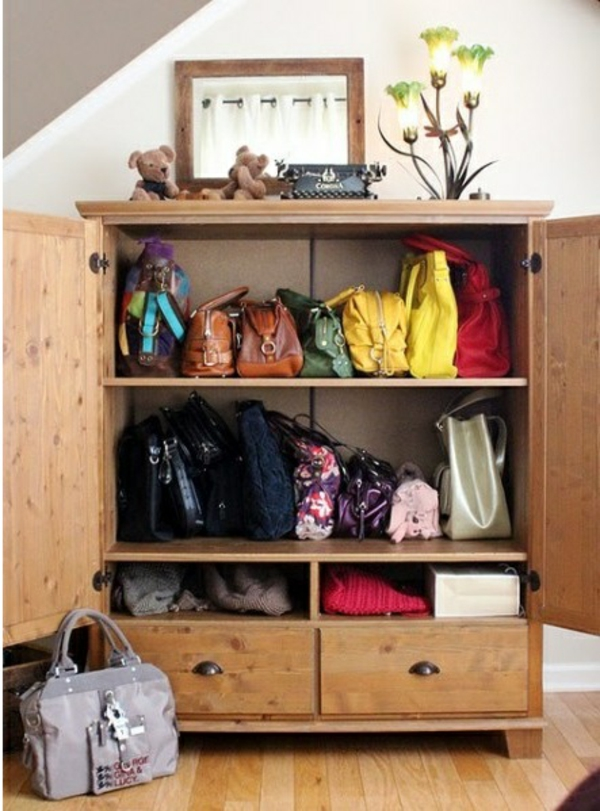 Kreative Aufbewahrungsideen Fur Ihre Damentaschen
